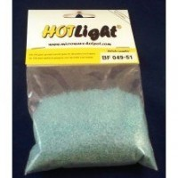 Hot Light Frits Turquoise transparant 100 gram