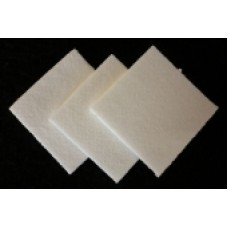 Biosoluble Fibre Paper 1mm 10stuks 48x48mm